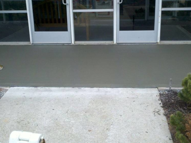 New Concrete Entry